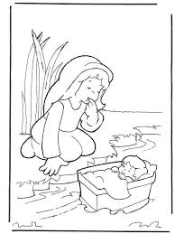 Baby Moses Coloring Page Printable 37 Best Vbs Images On Pinterest