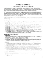 Federal Resume Template Template Writing Style Guide Template 91