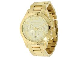 michael kors layton chronograph watch gold juratek michael kors layton chronograph watch gold