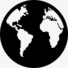 Download Free Png World Map Globe Vector Graphics Globe Font Free