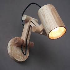 wall mounted lamps for bedroom modern oak wooden wall lamp bedroom reading lights creative decoration wall