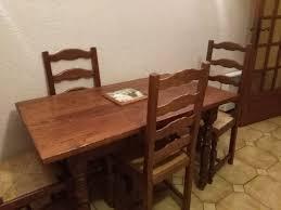 Achetez Table Cuisine Bois Occasion Annonce Vente à Six Fours Les