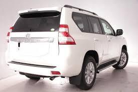 New Toyota Land Cruiser Prado Tzg Photo White Pearl Crystal