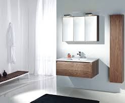Bathroom: Excellent Wooden Modern Bathroom Floating Vanity And Cabinet -  Modern Bathroom Vanity Set