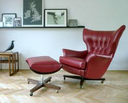 chairs for living rooms. Full Size Of Red Leather Swivel Chairs With Ottoman For Vintage Living Room Decorating Ideas Chair Rooms