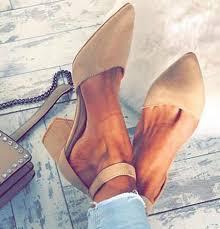 <b>Women</b> Pointed Toe <b>Flock High Heels</b> Sandals Shoes Ladies Girls ...