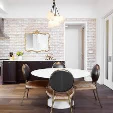 whitewashed exposed brick wall design ideas