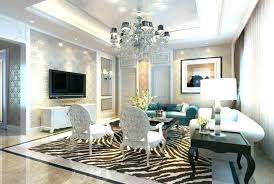 two story living room chandelier family