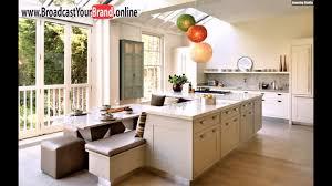 Moderne Beige Weiße Küche Pendelleuchte Holzmöbel Youtube