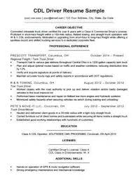 Driver Resume Interesting 4848 Cdl Class A Truck Driver Resume Sample Dollarforsense