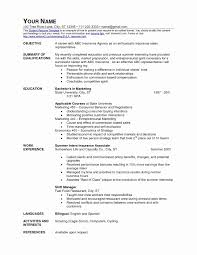 Awesome Fast Food Management Resume Atclgrain