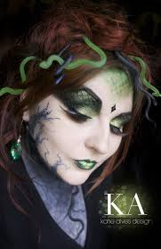 medusa makeup with tutorial by katiealves