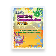 Pro Ed Speech And Language Development Chart Efcp Early Functional Communication Profile Wps