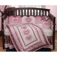 gorgeous baby nursery room decoration using pink leopard crib bedding engaging girl baby nursery room