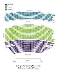 Ppac Seating Chart Seating Chart Bologna Pac