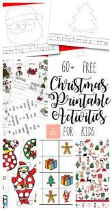 60+ Free Christmas Printable Activities for Kids