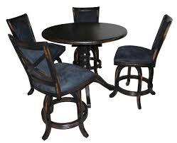 5 piece mango stools counter height pub set