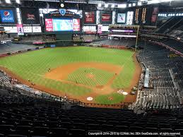 Chase Field Az Seating Chart Arizona Diamondbacks Seating Best Seats At Chase Field