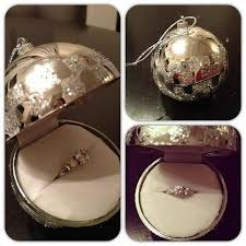 ornament engagement ring