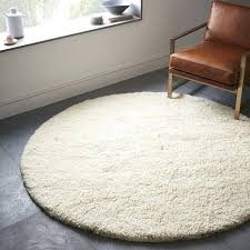 wool rug round west elm intended for 6 rugs design 5 foot 4 by area