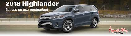 2018 Toyota Highlander Comparison serving Buford GA