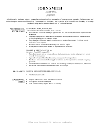 Traditional Resume Template Free Sample Resumes Example Resumes