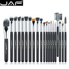 jaf brand 20pcs set makeup brush professional foundation eye shadow blending cosmetics make up tool 100 vegan synthetic taklon