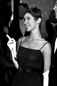 carrie fisher. Wonderful Fisher Charming Mischievousness  Carrie Fisher At The Star Wars Premiere 1977 To