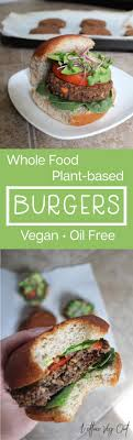 whole food plant based sweet potato black bean burger recipe oil free gluten free