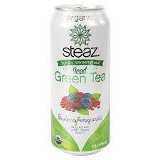 Steaz Lightly Sweetened Green Tea Buy Steaz Lightly Sweetened Iced Green Tea Blueberry