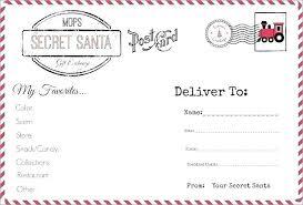 Santa List Template Santa Christmas List Urbandeals Co