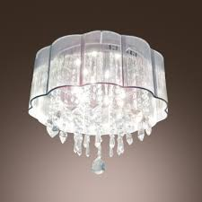 hand forged lampworking shade add charm to delightful six lights flush mount ceiling light with
