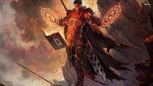 Mage warrior wallpaper