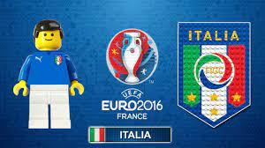 ITALIA Euro 2016 - Tutte le partite e i goal degli azzurri in Film Lego  Calcio Euro 2016 - YouTube
