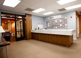 office receptions. office receptions desk with professional look