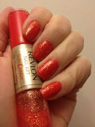 Revlon Nail Art Sun Candy – Lava Flame – Painted Nails & Baking Scales