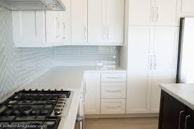 cashenere carrera quartz countertops kitchen remodel using cabinets cre8tive designs inc from white shaker