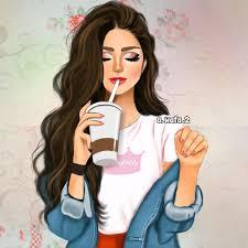 رسمتي 🌸#رايكم_يهمني . . . . #wafa_draw . #sketchbookpro #sketch #art  #draw … | Beautiful girl drawing, Cute girl drawing, Girly art