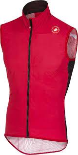 Castelli Pro Light Wind Vest Red Castelli Pro Light Wind Vest Mens Red L Amazon Co Uk