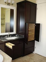 modern bathroom linen cabinets. modern decoration bathroom vanity and cabinet set brilliant linen 1000 images about cabinets o