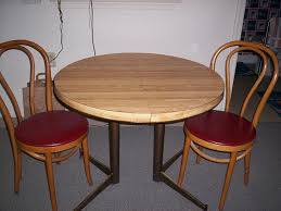 bloombety small kitchen round dining table and 2 chairs
