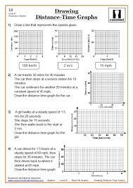 KS3 and KS4 Real Life Graphs Worksheet | Real Life Graphs GCSE