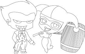 Small Picture Joker Coloring Pages coloringsuitecom