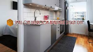 Small One Bedroom Apartment Designs Small One Bedroom Apartment Design Idea Youtube