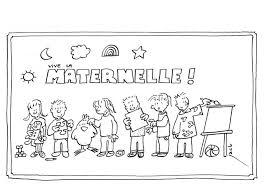 Coloriage Ecole Maternelle Les Beaux Dessins De Meilleurs