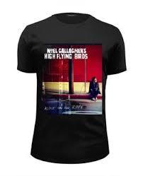 "Мужские <b>футболки</b> с принтами ""noel gallagher's <b>high</b> flying birds"""