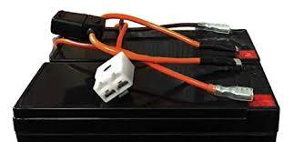 amazon com razor dirt quad battery wiring harness easy slide on battery wiring harness 2006 toyota tacoma razor dirt quad battery wiring harness easy slide on terminals no soldering!