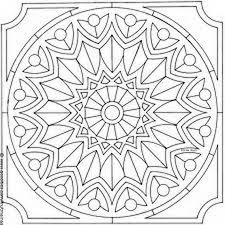 Islamic Geometric Coloring Pages