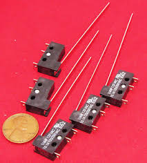cherry micro switch 5 pack cherry e62 long lever microswitch no nc spdt 10a 125vac 250v snap 10 1a s