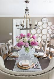 how high to hang your chandelier over the table and how wide of a chandelier you our dining room